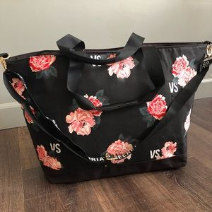Victoria's Secret Floral Duffel Bag